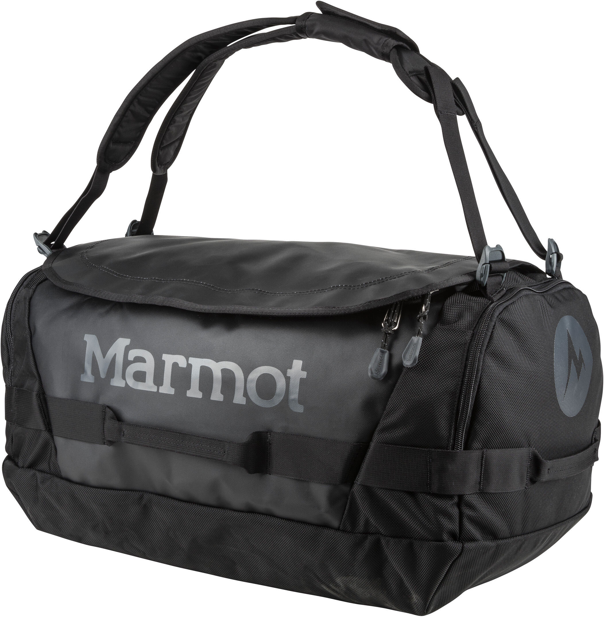 764cda2004f2 Marmot Long Hauler Duffel Travel Luggage Medium black at Addnature.co.uk